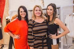 Tereza Miranda, Denise Monteiro e Thais Angeloni