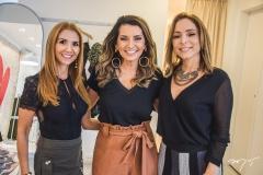 Wayne Moreira, Márcia Travessoni e Ana Paula Daud