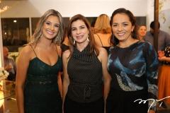 Aila Cristina, Kilvia Nogueira e Chris Albuquerque