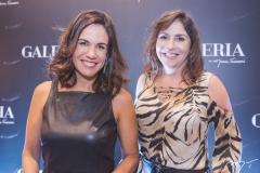 Ana Virgínia Martins e Cristiane Faria
