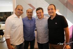 André Linheiro, Beto Mendonça, Dixneuf e Dante Bonorandi