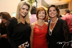 Anelisa Barreira, Louise Benevides e Ana Cristina Wolf