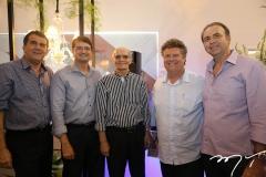 Antônio Elísio Aguiar, Edilson Pinheiro, Tito Sampaio, Evandro Colares e João Melo