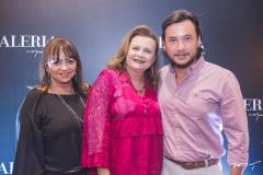 Carmen Cinira, Melania Torres e Thiago Falcão
