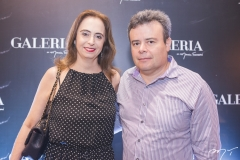 Christiane Pessoa e Dixneuf Rosado
