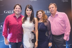 Daniel, Flávia, Jacqueline e José Simões