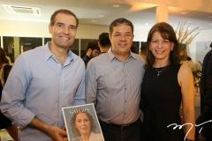 Eduardo Figueiredo, Emanuel Chaves e Aline Telles