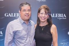 Emanuel Chaves e Aline Telles
