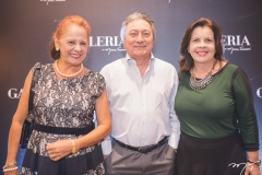 Fátima Duarte, Euvaldo Bringel e Eliane Brasil