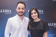 Felipe Barreira e Beatriz Tajra