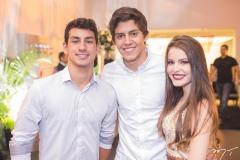 Fernando Bentes, Hugo Fenelon e Maiara Rocha