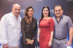 Fernando Travessoni, Márcia Travessoni, Lia e Gentil Linhares