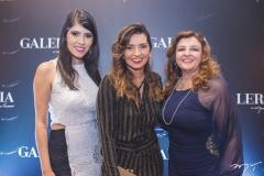Flávia Simões, Márcia Travessoni e Jacqueline Simões