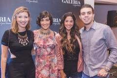 Gabi Dourado, Clara Dourado, Ker Cardoso e André Lucas