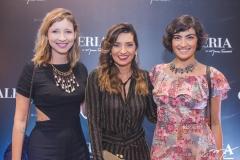Gabi Dourado, Márcia Travessoni e Clara Dourado