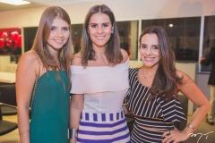 Giovanna Esteves, Deborah Bandeira e Ticiana Machado