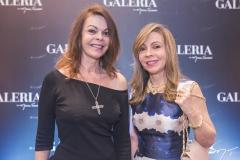 Gláucia Andrade e Venúsia Ribeiro