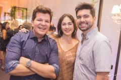 Gustavo Serpa, Izabela Fiúza e Itaquê Figueiredo