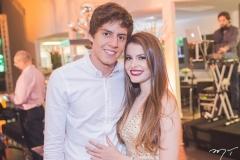 Hugo Fenelon e Maiara Rocha