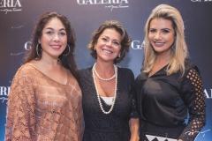 Izabela Fiúza, Ana Cristina Wolf e Anelisa Barreira