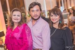 Janice Machado, Thiago Falcão e Carmen Cinira