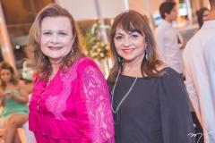 Janice Machado e Carmen Cinira