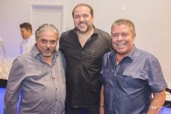 José Armando Aguiar, George Assunção e Ricardo Studart