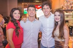Lara Travessoni, Fernando Bentes, Hugo Fenelon e Maiara Rocha
