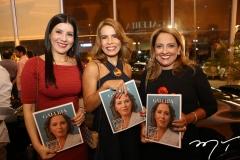 Lia Linhares, Maira Silva e Liana Thomaz