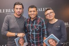 Lúcio Aureo, Alex Martins e Lindebergue Fernandes