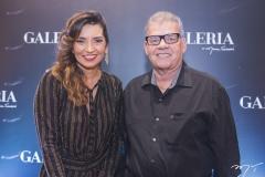 Márcia Travessoni e Carlos Juaçaba