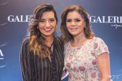 Márcia Travessoni e Liliana Linhares