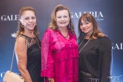 Melania Torres, Janice Machado e Carmen Cinira