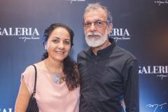 Patrícia Veloso e Gentil Barreira