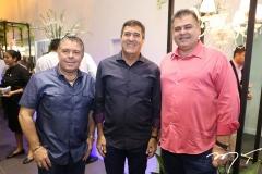 Ricardo Studart, Luiz Gastão Bittencourt e Marcos Gomide