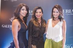 Synara Leal, Márcia Travessoni e Natalie Pires
