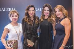 Tane Albuquerque, Márcia Travessoni, Eveline Fujita e Maira Silva