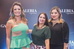 Tatiana Luna, Cristina Albuquerque e Manuela Romcy
