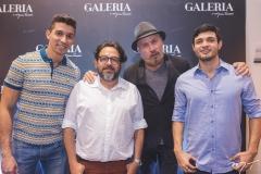 Tom Mendes, Nicolas Gondim, Celso Férrer e Eduardo Melo