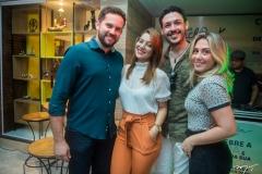 Eliandro Aragão, Raquel Águines, Tiago Miranda e Priscila CBO