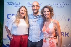 Eveline Pessoa, Denilson Martins e Micheline Olivindo