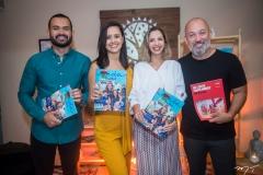 Fellipe Oliveira, Gisele Leal, Michele Magalhães e Alexandre de Lima