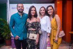 Fellipe Oliveira, Ingrid Machado, Michele Magalhães e Gisele Leal