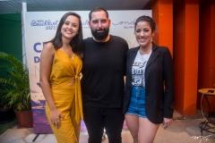 Gisele Leal, Luiz Victor Torres e Nayara Alves