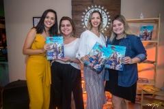 Gisele Leal, Renata Benevides, Michele Magalhães e Carla Rodrigues