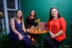 Janaína Mota, Niey Martins e Estela Mares