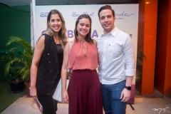 Juliana Ribeiro, Rebeca e Pedro Gregori