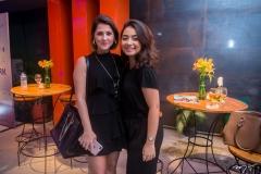 Lígia Nottegham e Mariana Romero