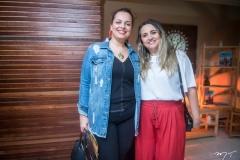 Luciana Junqueira e Eveline Pessoa