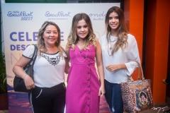 Menta Siqueira, Brenda Riveli e Cibele de Castro